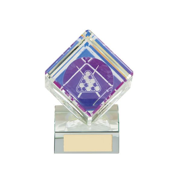 Victorious Pool Crystal Cube Award 105mm