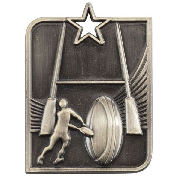 Centurion Star Series Rugby Medal Gold 53x40mm