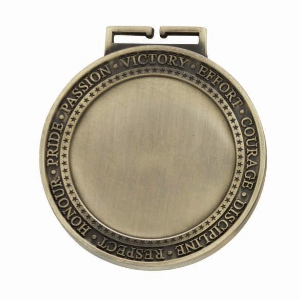 Olympia Multisport Medal Antique Gold 70mm