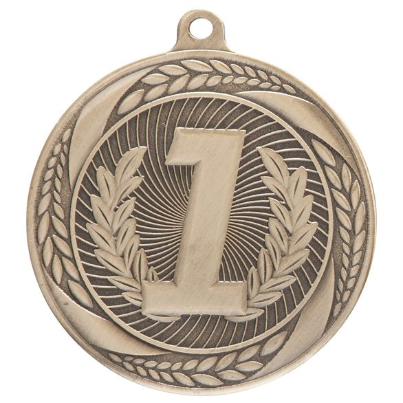 Typhoon 1st Place Medal Gold 55mm