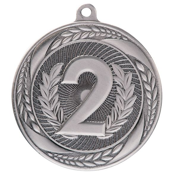 Typhoon 2nd Place Medal Silver 55mm