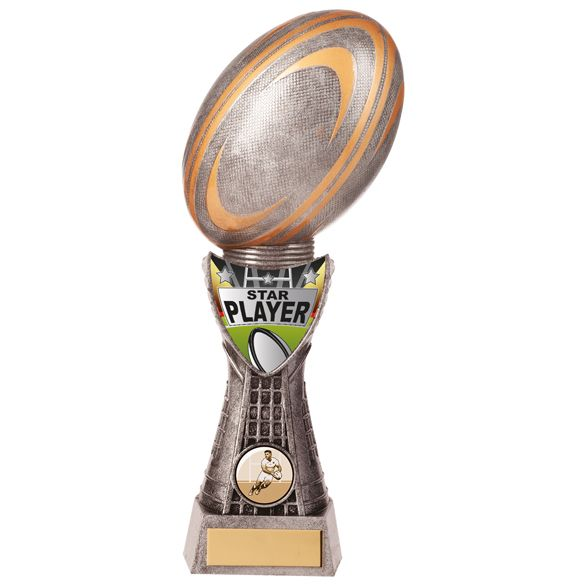 Valiant Rugby Star Player Award 255mm
