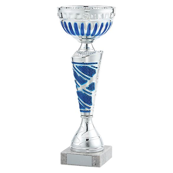 Charleston Cup Silver & Blue 240mm
