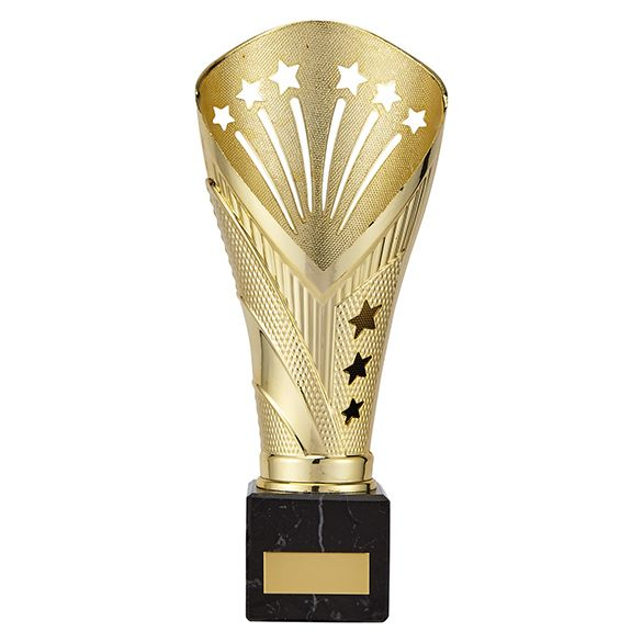All Stars Large Rapid Trophy Gold 235mm